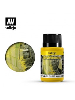 Vallejo: Weathering Moss And Lichen Effect (40ml)