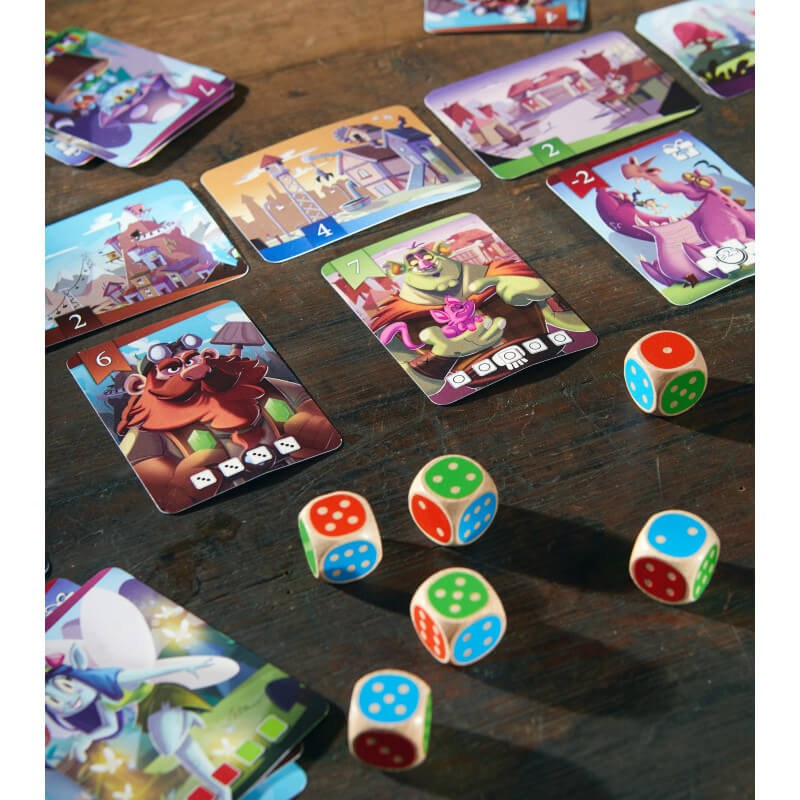 jeu King of the dice