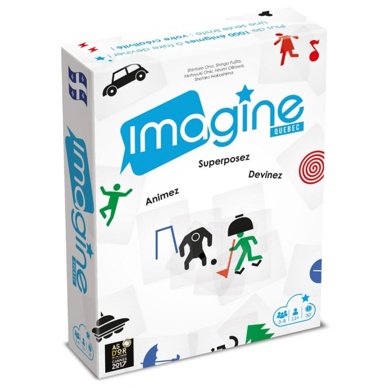 Imagine Version Quebec jeu