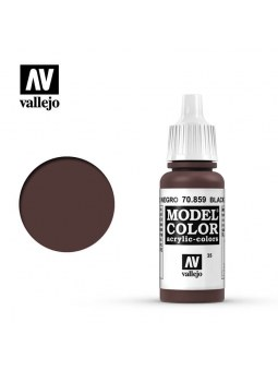 Vallejo: Model Color Matt Black Red (17ml)
