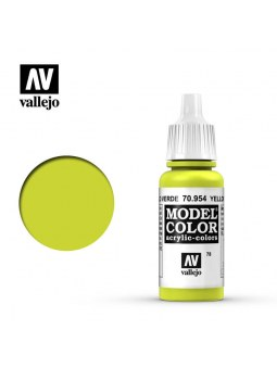 Vallejo: Model Color Matt Yellow Green (17ml)