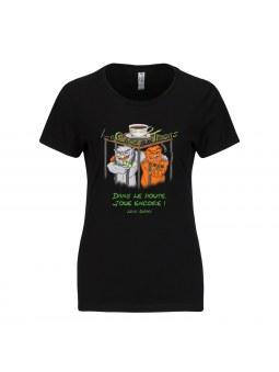 T-shirt Femme La cage aux Trolls