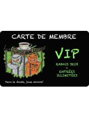 Carte membre VIP Cage aux Trolls