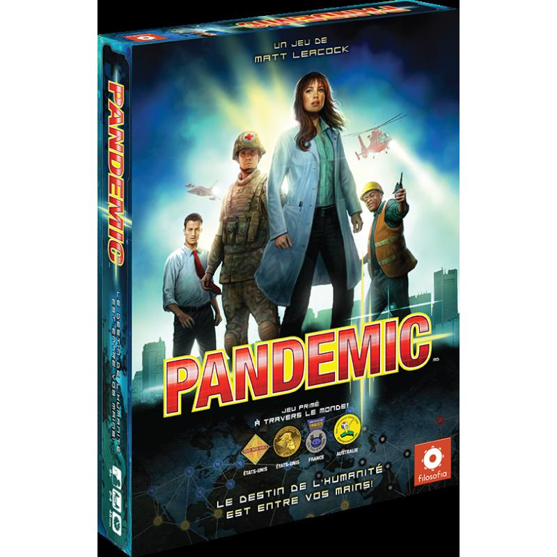 jeu de société pandémic