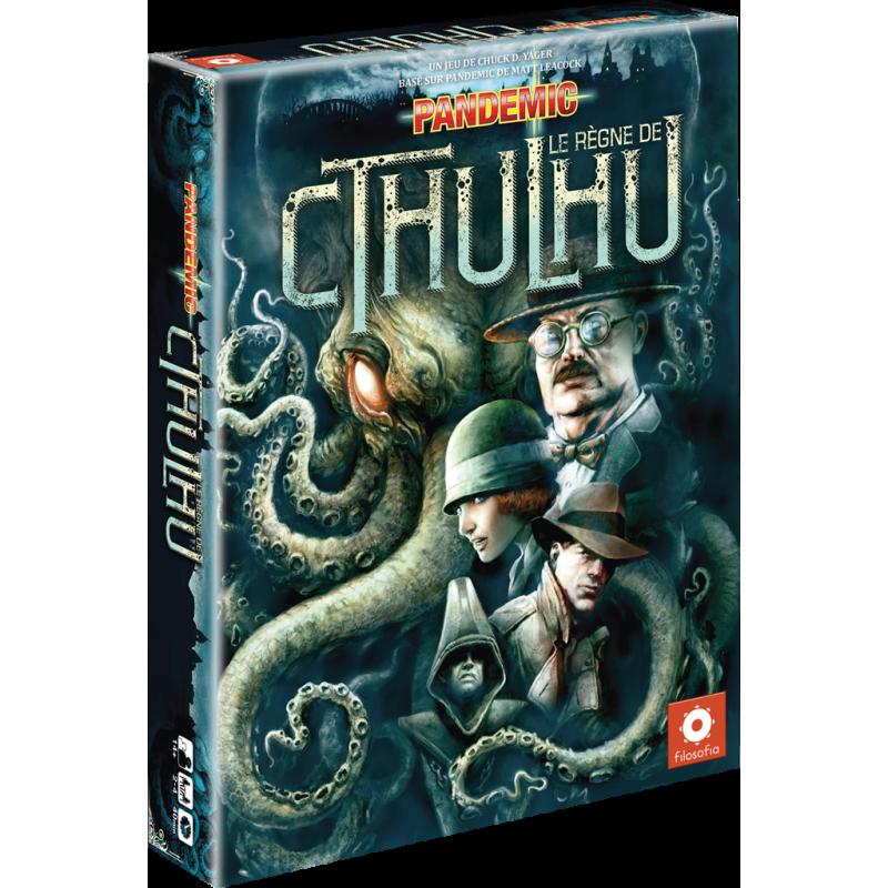 Pandemic : le règne de Cthulhu jeu