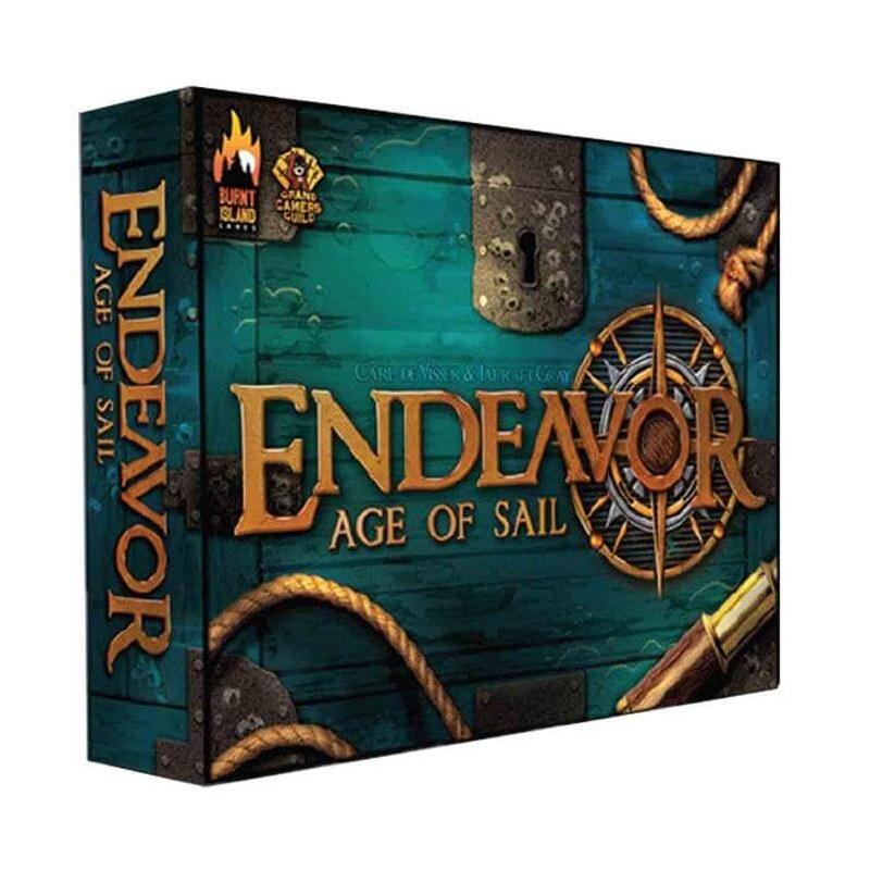 Endeavor - L'age De La Voile jeu