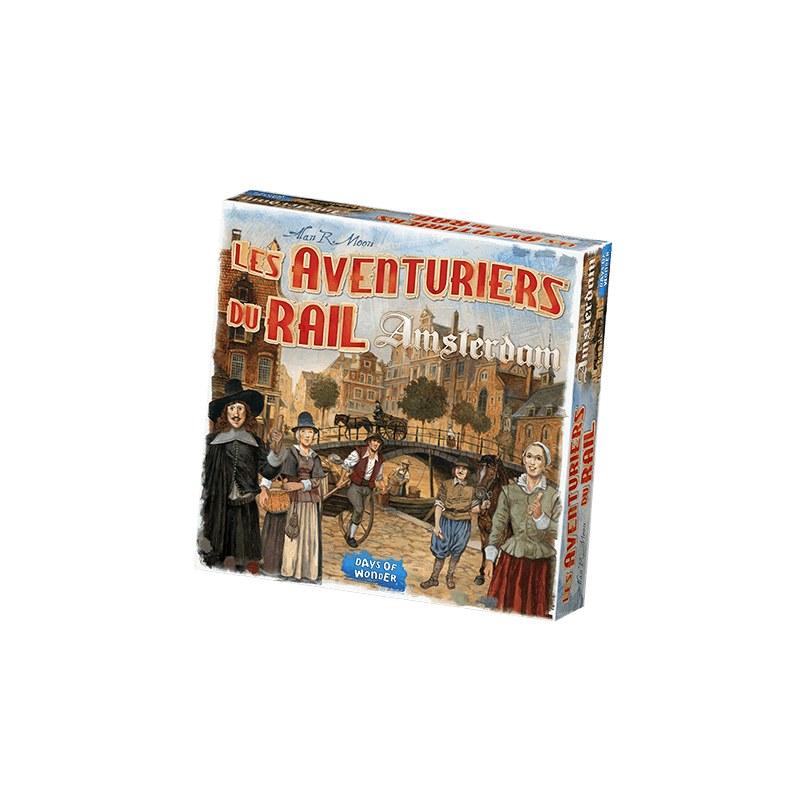 Les Aventuriers Du Rail Amsterdam jeu