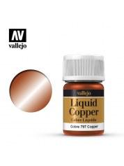 Peinture Vallejo: Liquid Gold Alcohol Base Copper (35ml)
