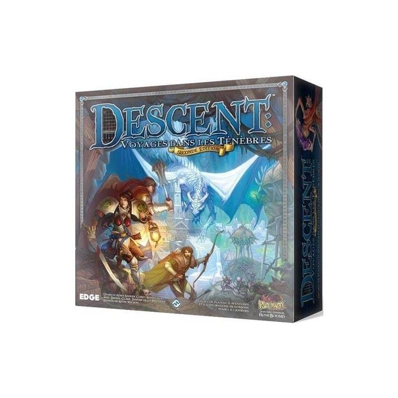 Descent 2E: Voyages dans les Ténèbres jeu