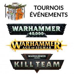 Tournois Warhammer 40K, AOS à Lévis