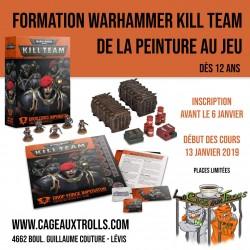 Formation et cours de peinture Warhammer