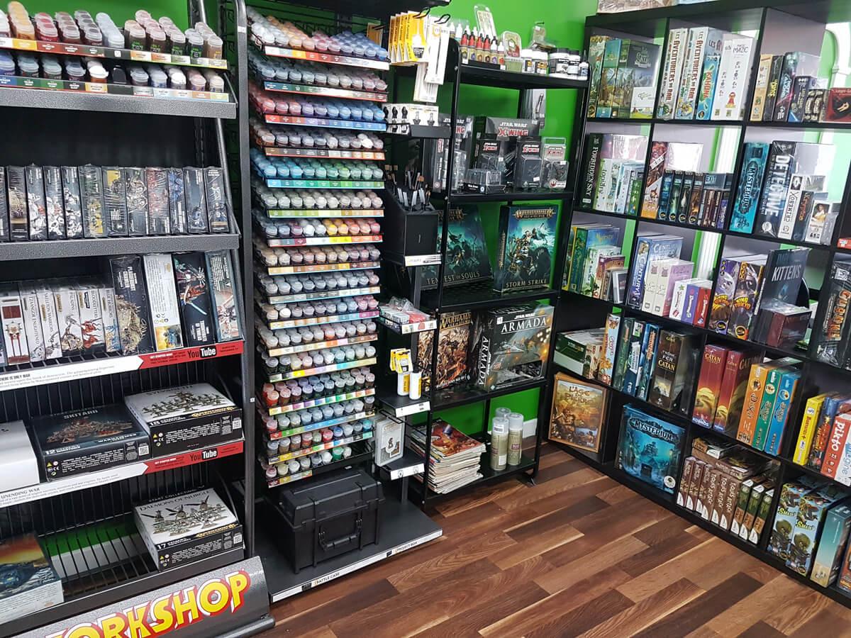 Boutique de jeux et warhammer