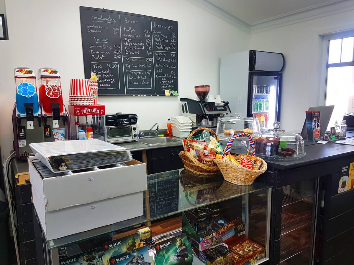 Café restaurant ludique Lévis