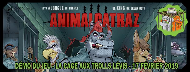Démo jeu Animalcatraz à Lévis