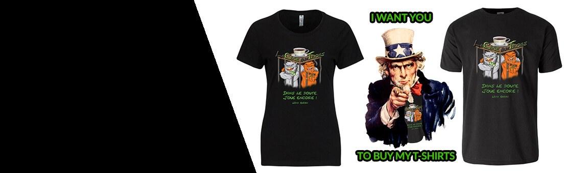 T-shirt Cage aux Trolls