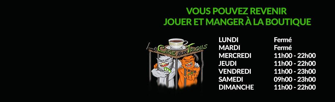 Café ludique et vente de jeux de société