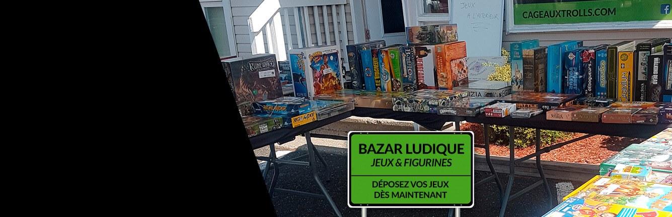 Bazar Ludique 24 Octobre à Lévis