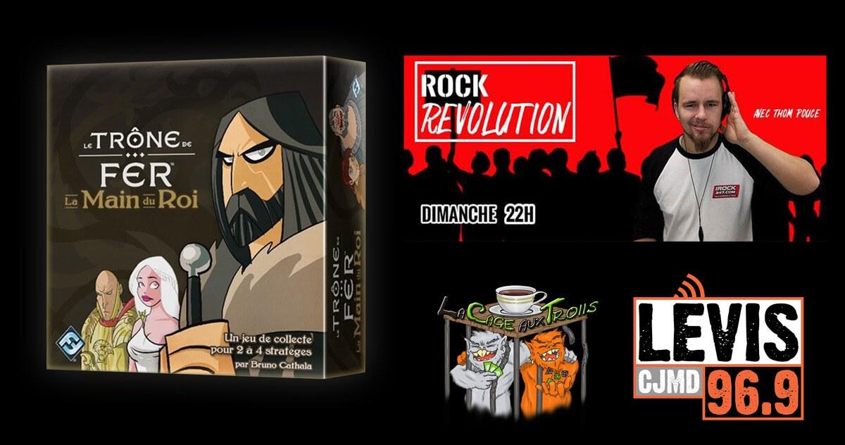 Le Trône de Fer La Main du Roi - Podcast Rock Revolution du 13 janvier 2019