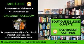 Achetez vos jeux en ligne | La boutique en ligne est ouverte pendant le Covid 19