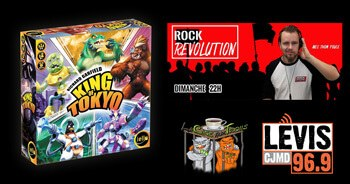 King of Tokyo - Podcast Rock Revolution du 10 février 2019
