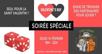 Soirée jeux de la Saint Valentin - Spéciale célibataire